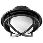 Fleet Ceiling Fan Light Kit - Black / Satin Opal