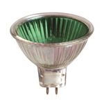 MR16 GU5.3 Base 35W 12V  -  / Green