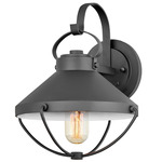 Crew 120V Outdoor Wall Sconce - Black