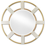 Camille Mirror - Brushed Brass