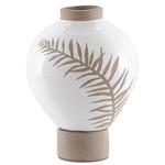 Fern Vase - White