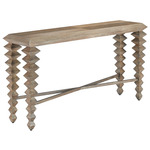 Saranya Console Table - Light Pepper