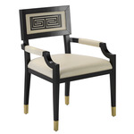 Artemis Chair - Black / White