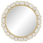 Fontaine Mirror - Gold Leaf