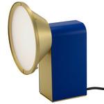 Wonder Table Lamp - Polished Brass / Dark Blue