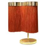 Arcipelago Table Lamp - Polished Brass / Bright Orange