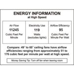 96 Inch Industrial Ceiling Fan -  /