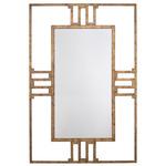Korban Dauphine Mirror - Gold Leaf