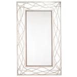 Korban Wilton Mirror - Silver Leaf