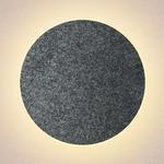 Ramen Wall Sconce - Charcoal Felt