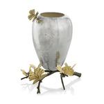 Butterfly Ginkgo Vase - Stainless Steel