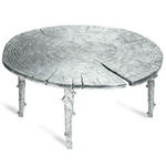 Enchanted Coffee Table - Polished Aluminum