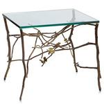 Butterfly Ginkgo Table - Brass