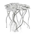 Lily Pad Table - Nickel
