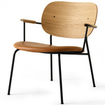 Co Lounge Chair - Black / Natural Oak