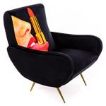 Tongue Arm Chair - Black