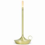 Wick Portable Lamp - Brass