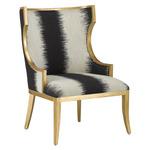 Garson Chair - Antique Gold / Kona