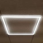 2 X 2 Edge Lit LED Panel - Diffused Lens