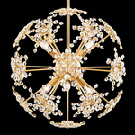 Esteracae Pendant - Heirloom Gold / Swarovski Crystal