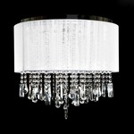 Beverly Drive Dual Hanging/Flush Mount -  / White