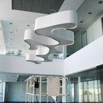 Ameba Pendant - Aluminum / White Matte Lacquer