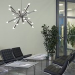 Starburst Pendant by Blackjack Lighting