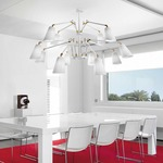Cornelia 03 2-Tier Multi-Arm Pendant by Bover