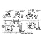 Evolution C6AD 6 Inch A19 Open Downlight Trim -  /