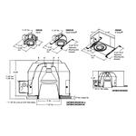 Evolution C6P38D 6 Inch PAR38 Open Reflector Downlight Trim -  /