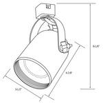 CTL2220 Line Voltage PAR20 Compact Cylinder Track Fixture -  /