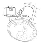 CTL602 Line Voltage PAR Universal Lampholder Track Fixture -  /