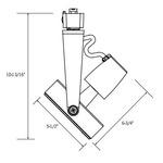 CTL8138 Line Voltage PAR38 Gimbal Track Fixture -  /
