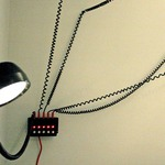 Droog 3-Light Wall Fixture - Black /