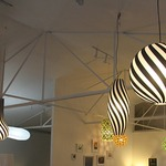 Rise Pendant Light - White / Black / White