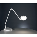 Element Disc Table Lamp - White /