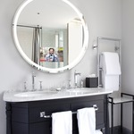 Eternity Lighted Mirror with Ava Dimming -
