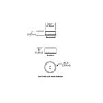 Dot Round 90 Degree LED Undercabinet -  /