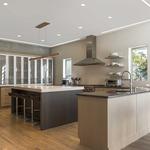 Glide Walnut | by Edge Lighting <br />Interior Design | Beverly Hammel