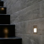 Step Master Wall Recessed by Edge Lighting