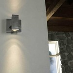 Taos Square ELV Dim LED Wall Sconce by Edge Lighting