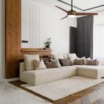 Mod Ceiling Fan with Light -