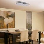 Polifemo 4 Light Rectangular Ceiling Flush Mount -  /