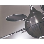 Cirque Ceiling Fan - Brushed Nickel Silver /