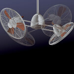 Gyro Twin Turbo Fan - Restoration Bronze /