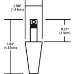 FJ Heavy Duty Coaxial Pendant Connector -  /