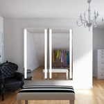 Fusion Lighted Wardrobe Mirror by Electric Mirror