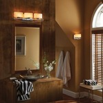 Bleeker Street Bathroom Vanity Light by Feiss