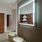 Integrity Rectangle Lighted Mirror -