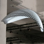Icarus Wing Light by David Trubridge